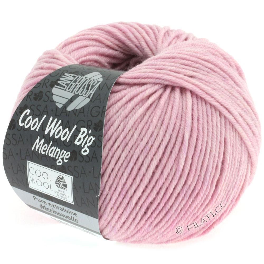 Lana Grossa COOL WOOL Big  Uni/Melange | 0334-rosa meleret