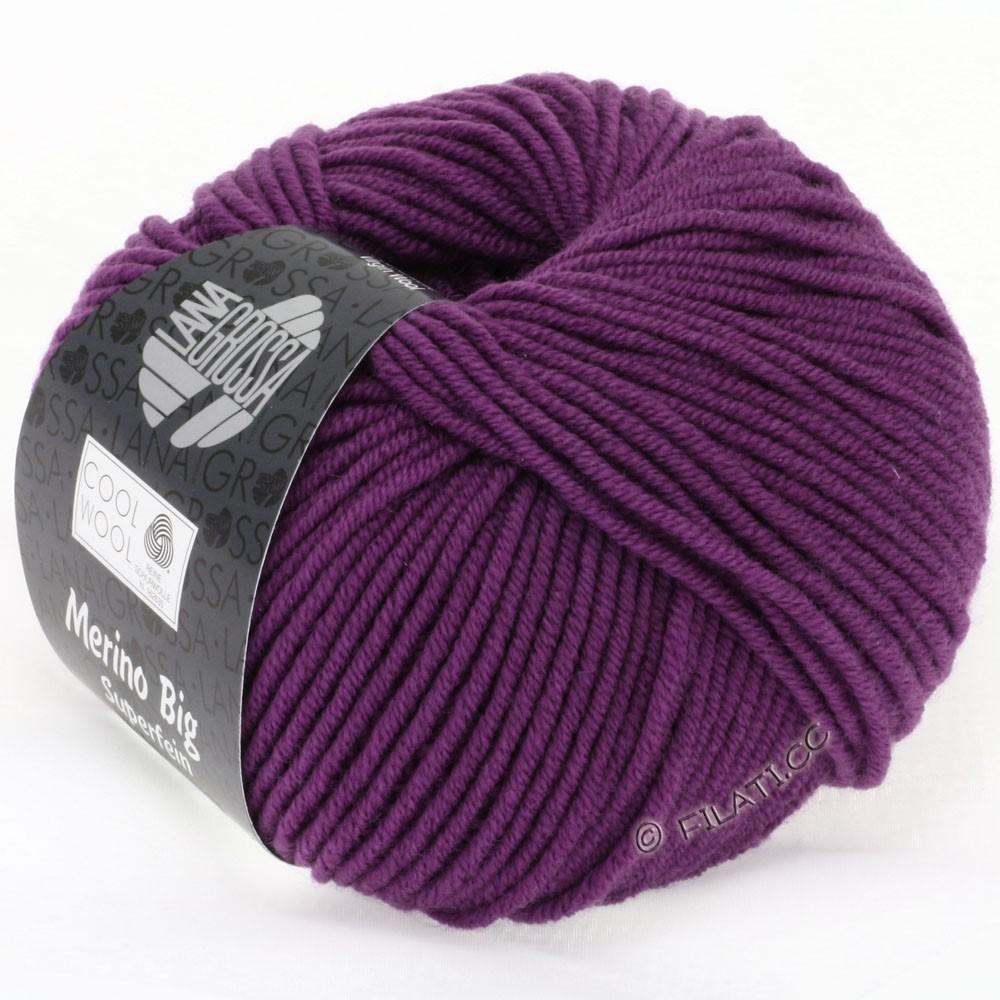 Lana Grossa COOL WOOL Big  Uni/Melange | 0695-violet
