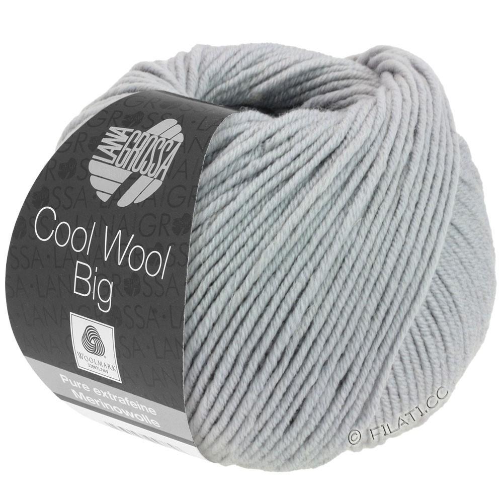 Lana Grossa COOL WOOL Big  Uni/Melange | 0928-gennemsnit grå