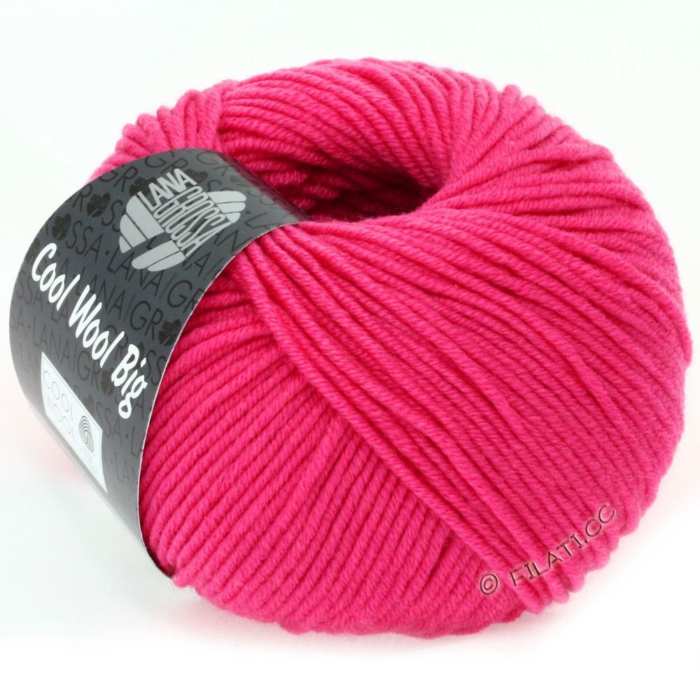 Lana Grossa COOL WOOL Big  Uni/Melange/Print | 0938-pink