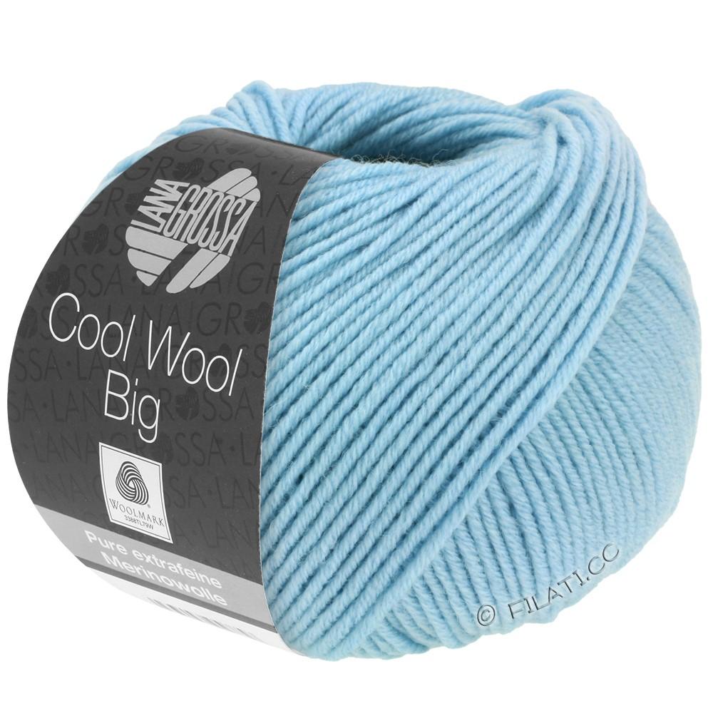 Lana Grossa COOL WOOL Big  Uni/Melange | 0946-himmelblå
