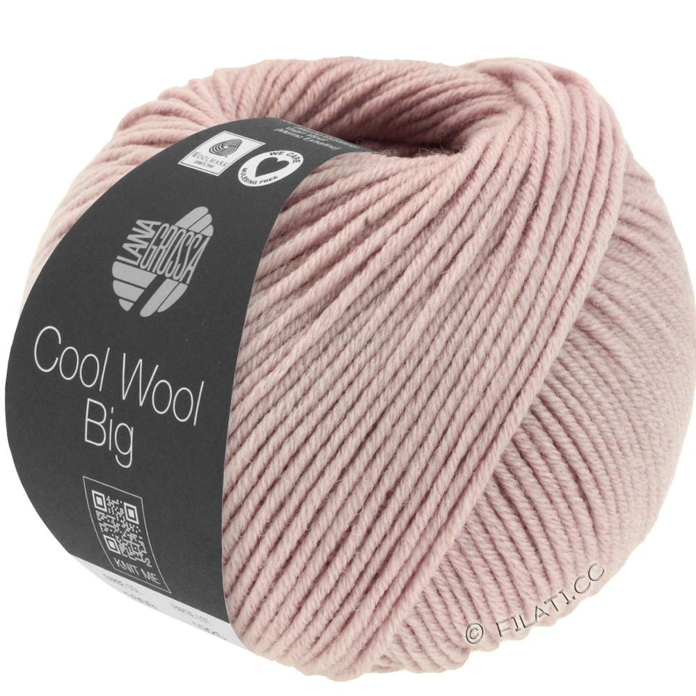 Lana Grossa COOL WOOL Big  Uni/Melange | 0953-rosentræ