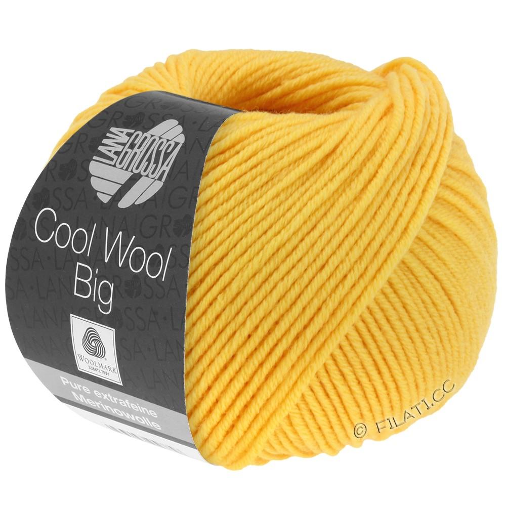 Lana Grossa COOL WOOL Big  Uni/Melange/Print | 0958-solgul