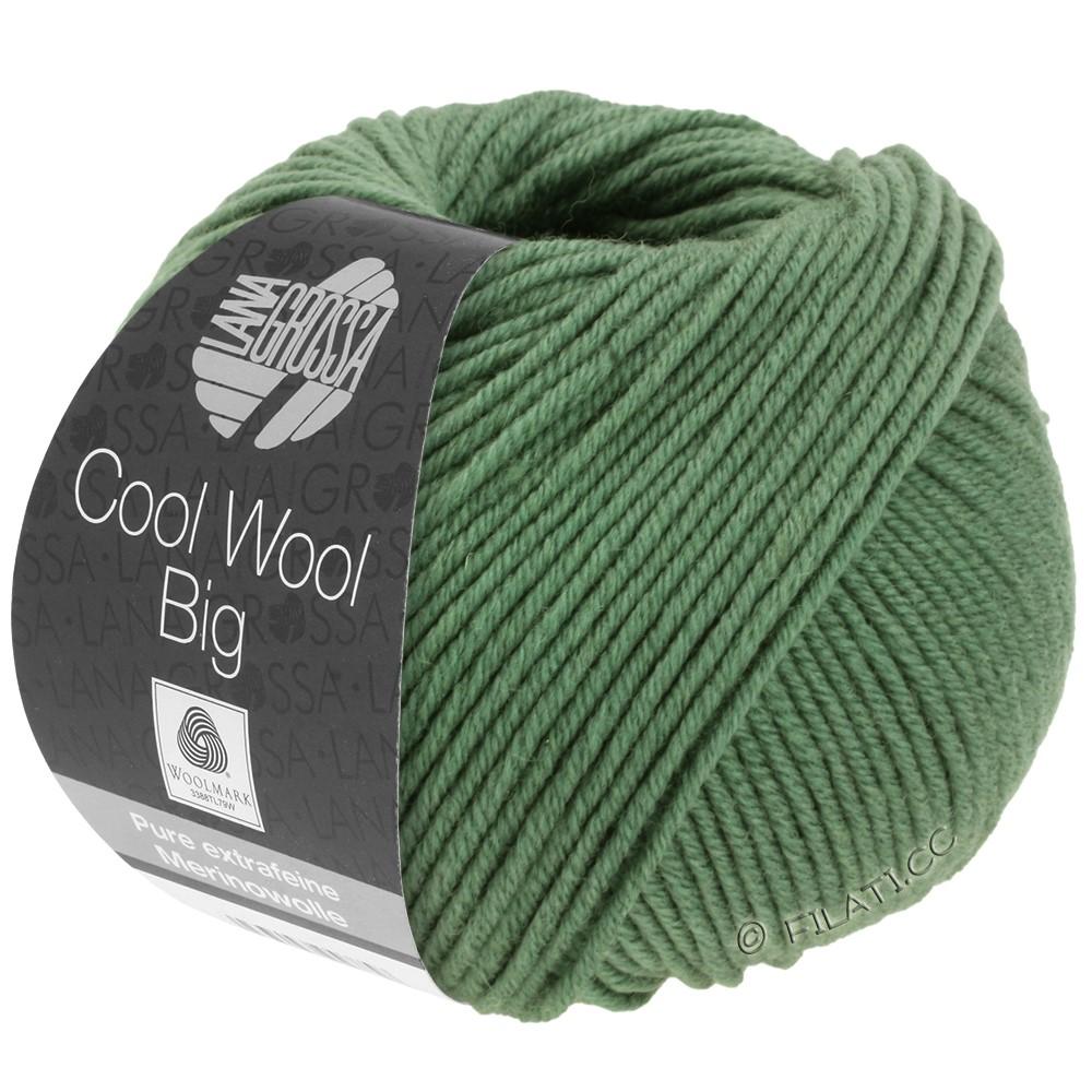 Lana Grossa COOL WOOL Big  Uni/Melange   0967-resedagrøn