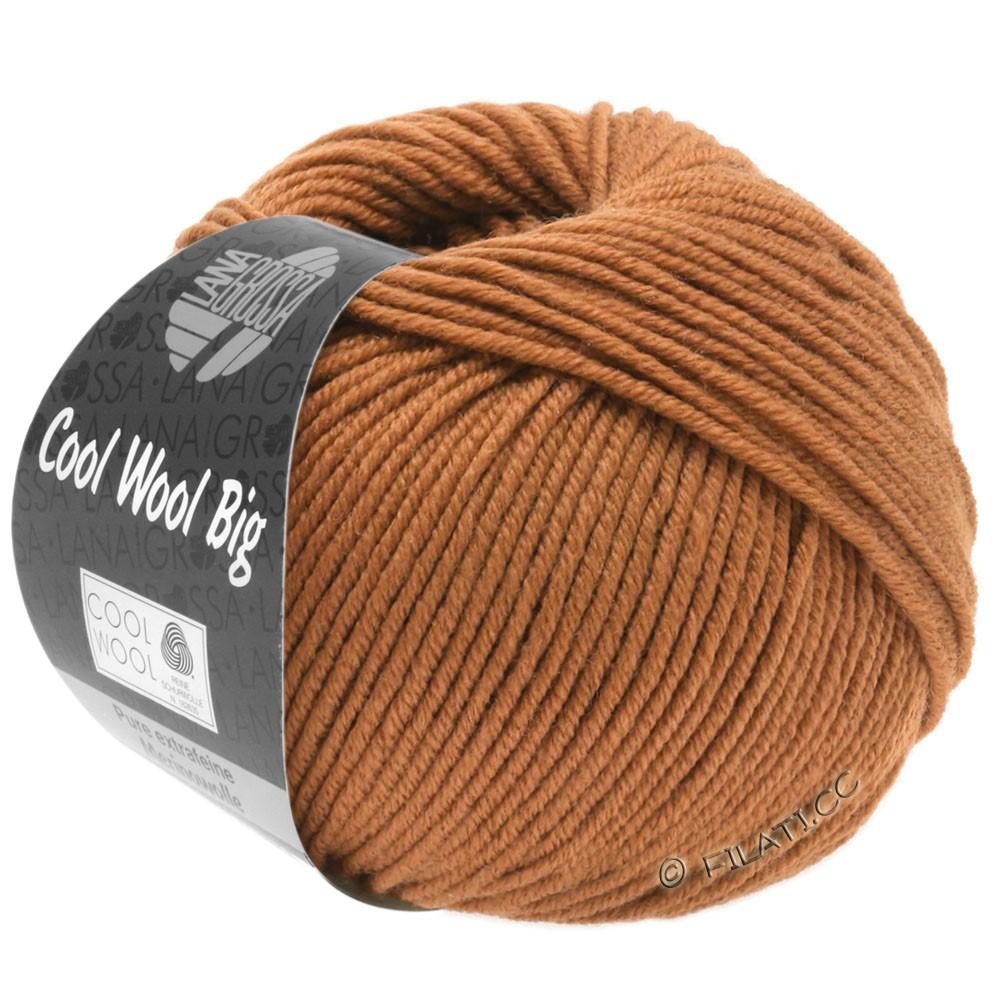 Lana Grossa COOL WOOL Big  Uni/Melange   0969-karamel