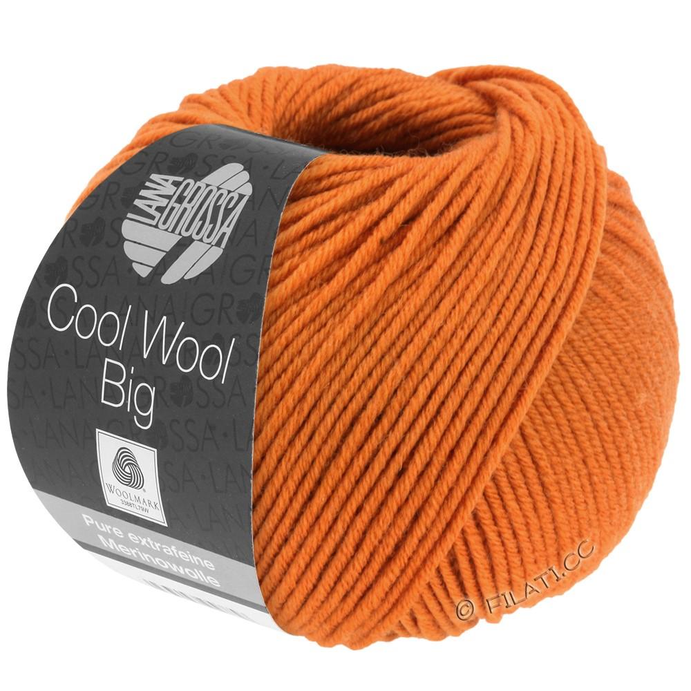 Lana Grossa COOL WOOL Big  Uni/Melange   0970-orange