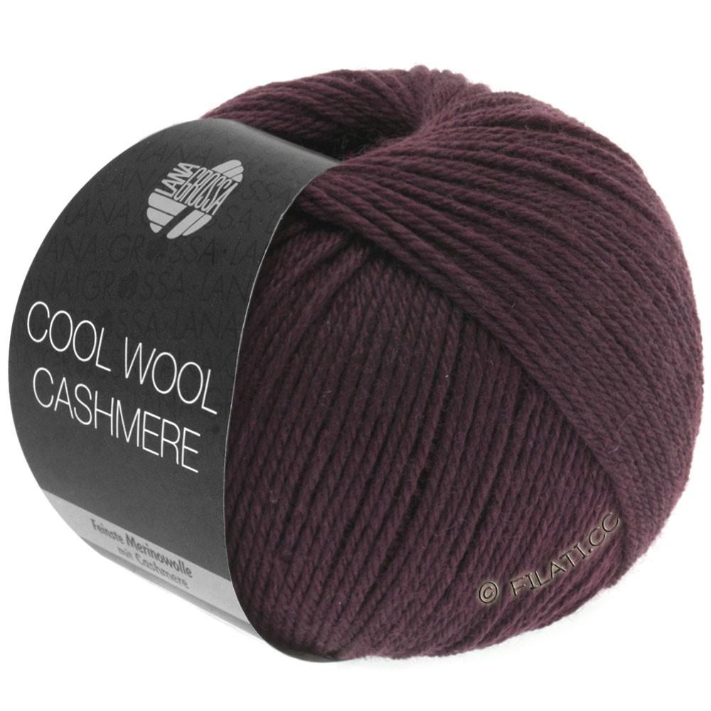 Lana Grossa COOL WOOL Cashmere | 04-mørkebrun