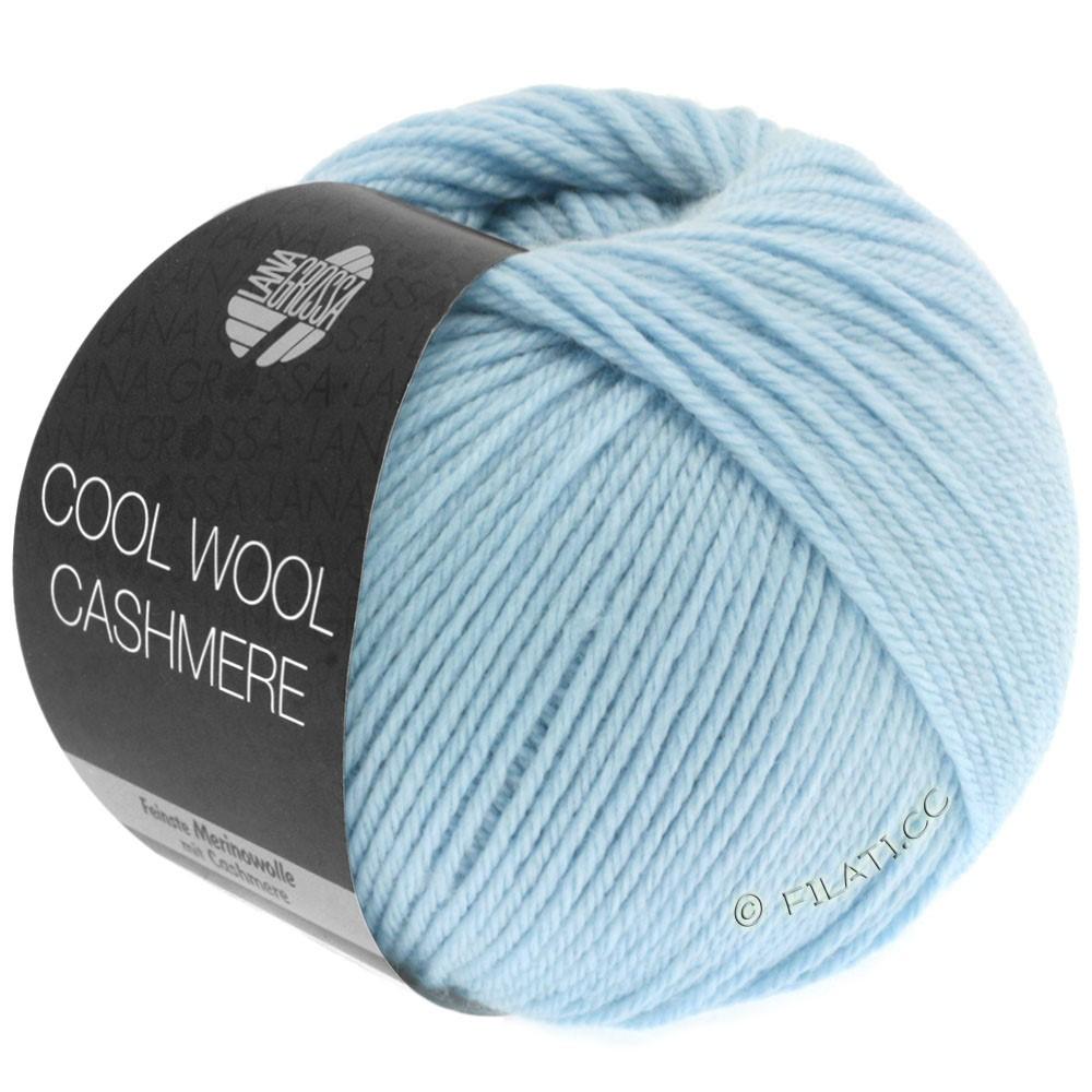Lana Grossa COOL WOOL Cashmere | 08-lyseblå