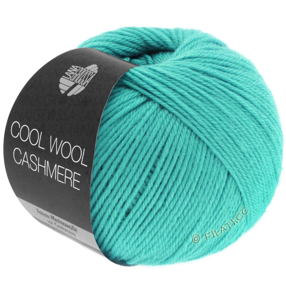 Lana Grossa COOL WOOL Cashmere | 09-turkis