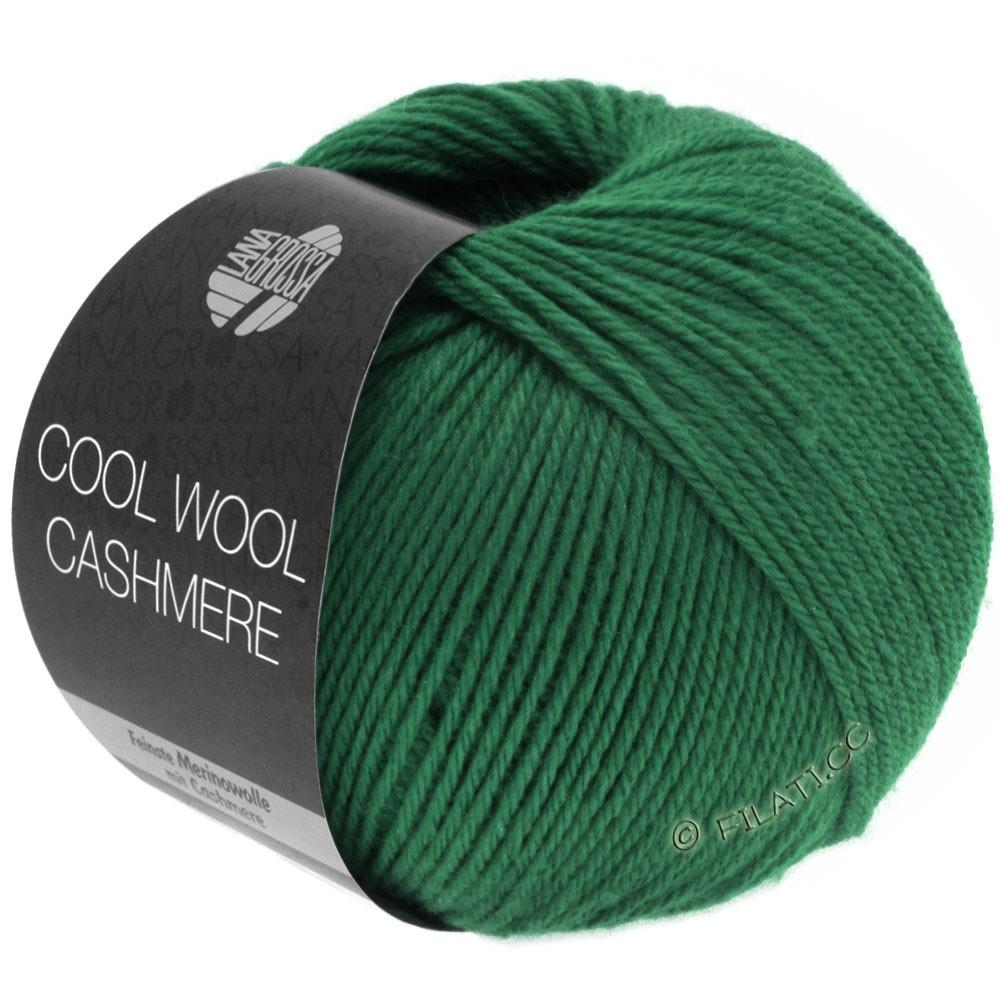Lana Grossa COOL WOOL Cashmere | 10-mørkegrøn
