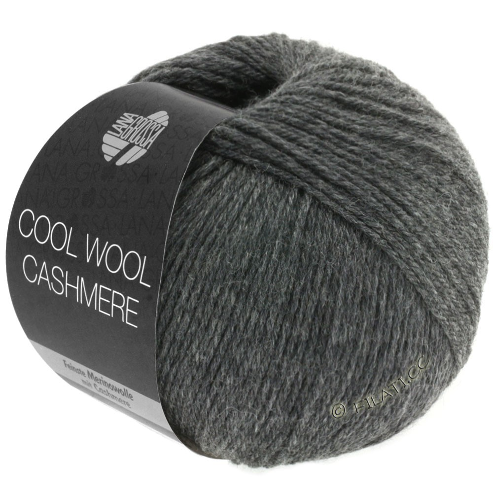 Lana Grossa COOL WOOL Cashmere | 14-antracit