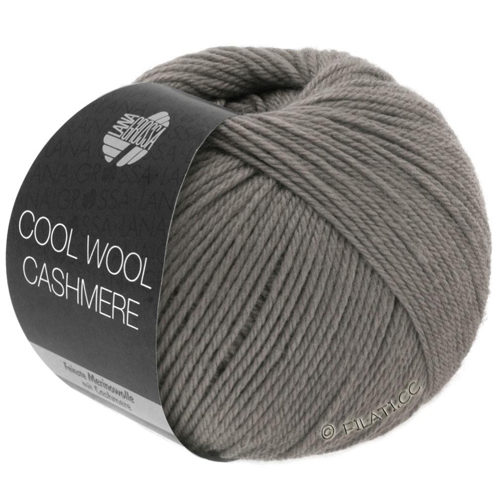 Lana Grossa COOL WOOL Cashmere | 19-gråbrun