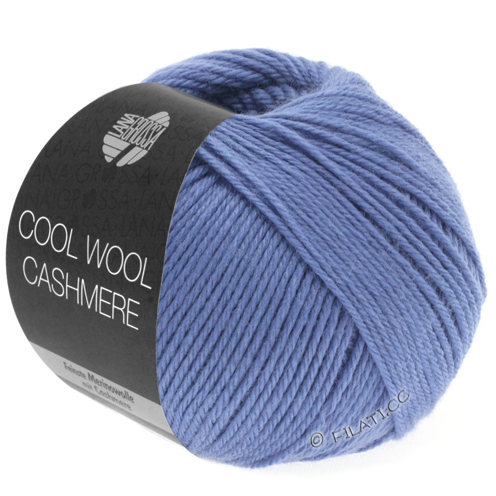 Lana Grossa COOL WOOL Cashmere | 24-violetblå