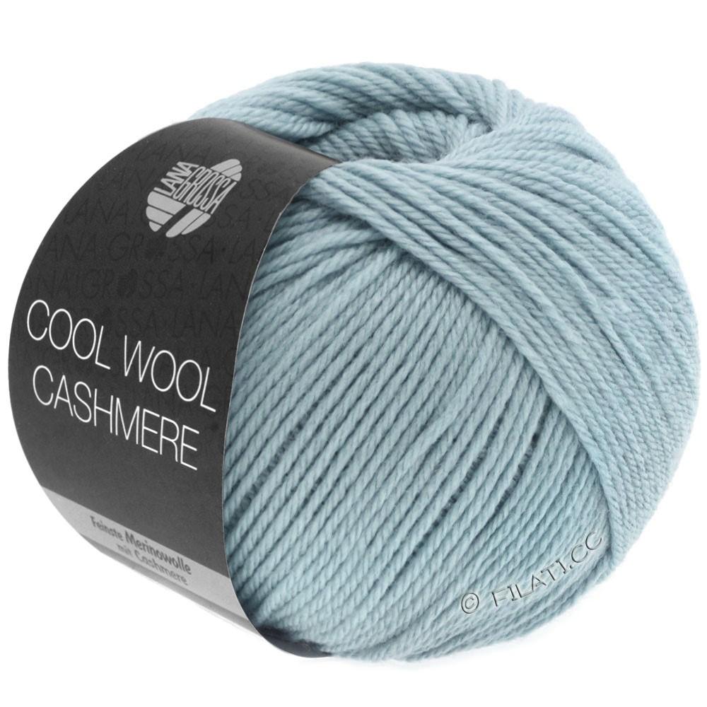 Lana Grossa COOL WOOL Cashmere | 25-gråblå
