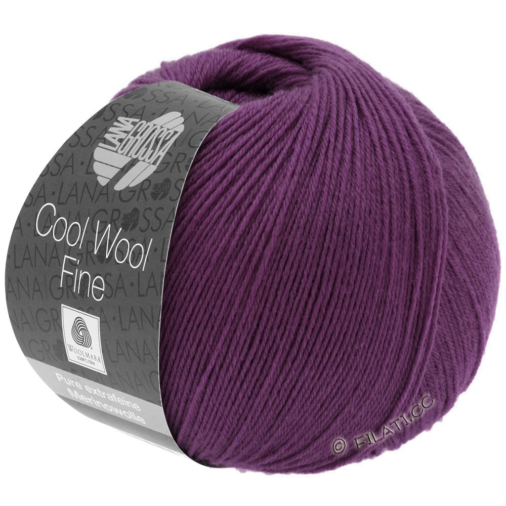 Lana Grossa COOL WOOL Fine | 05-violet