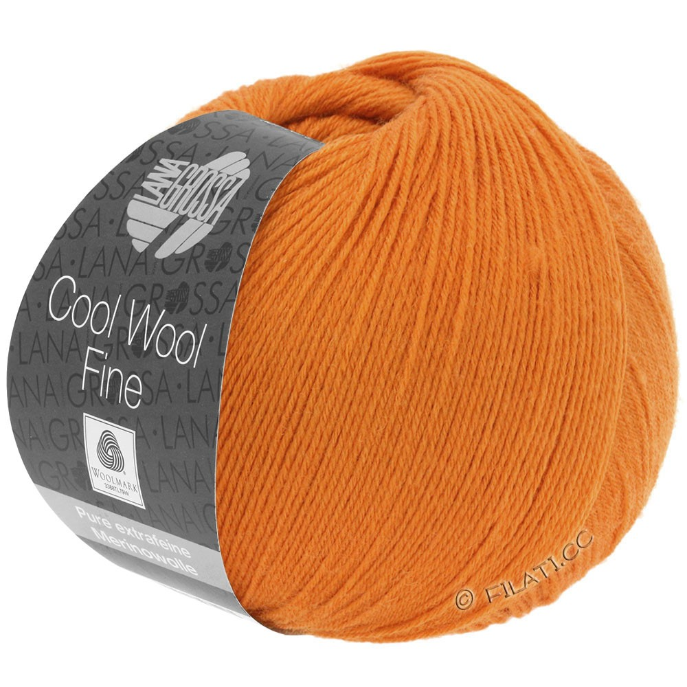 Lana Grossa COOL WOOL Fine | 21-orange