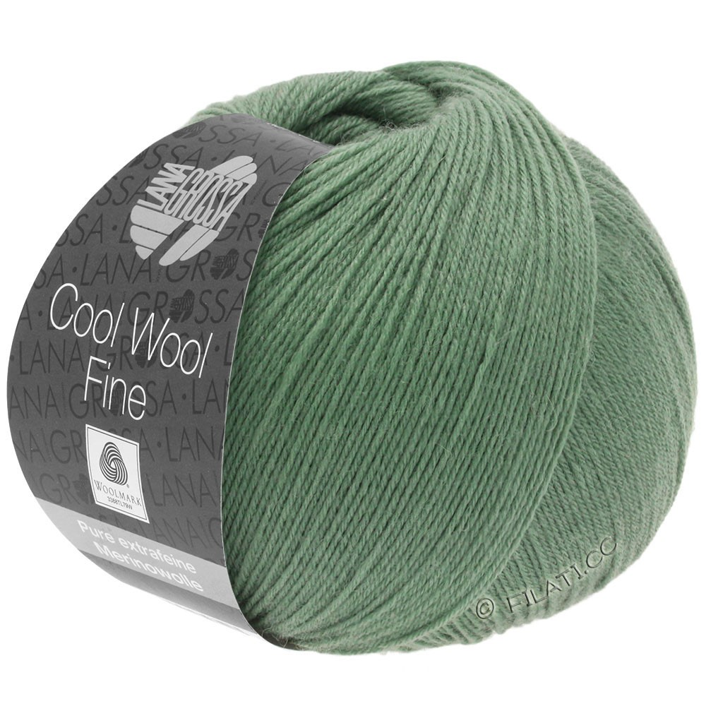 Lana Grossa COOL WOOL Fine | 25-turkisgrøn