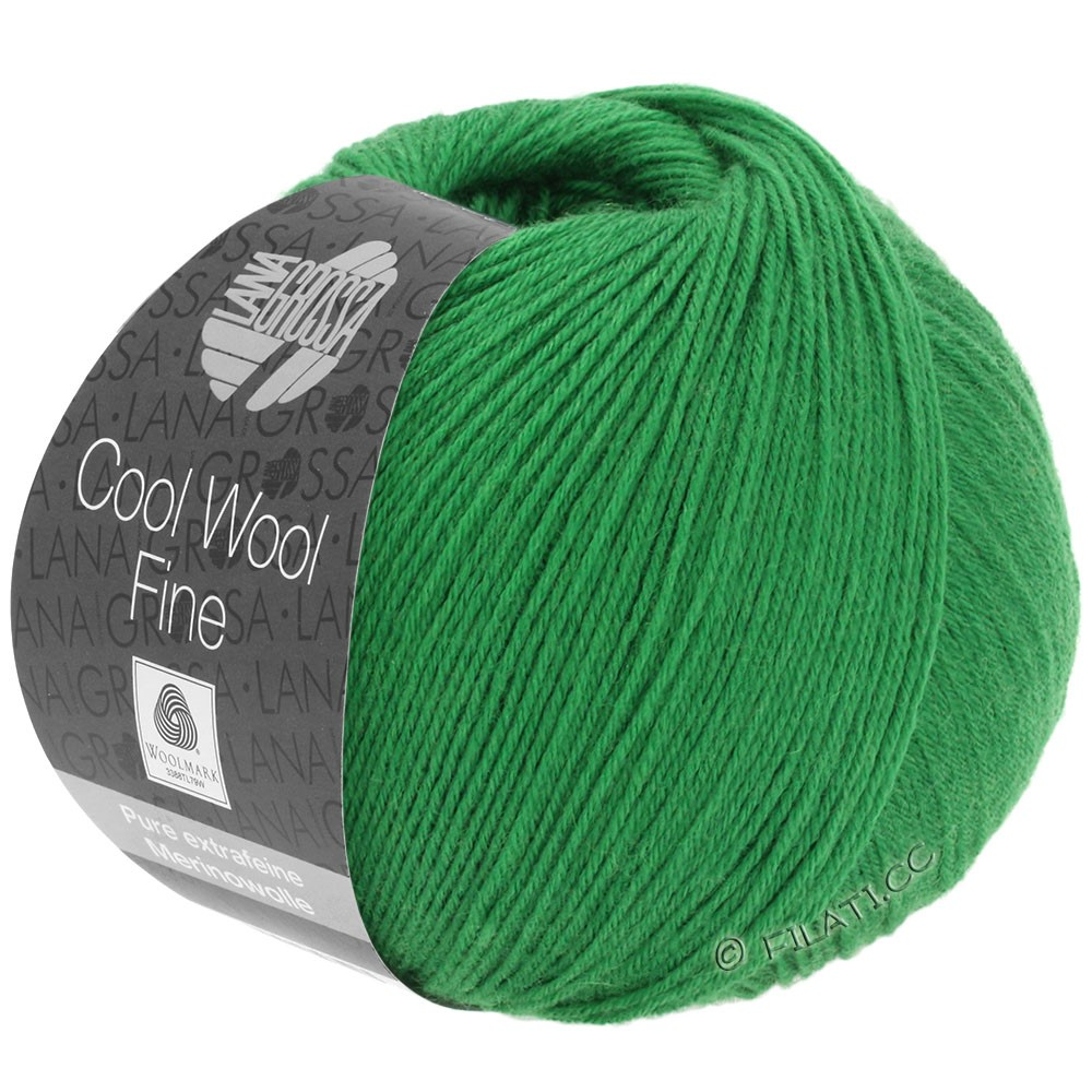 Lana Grossa COOL WOOL Fine | 32-grøn