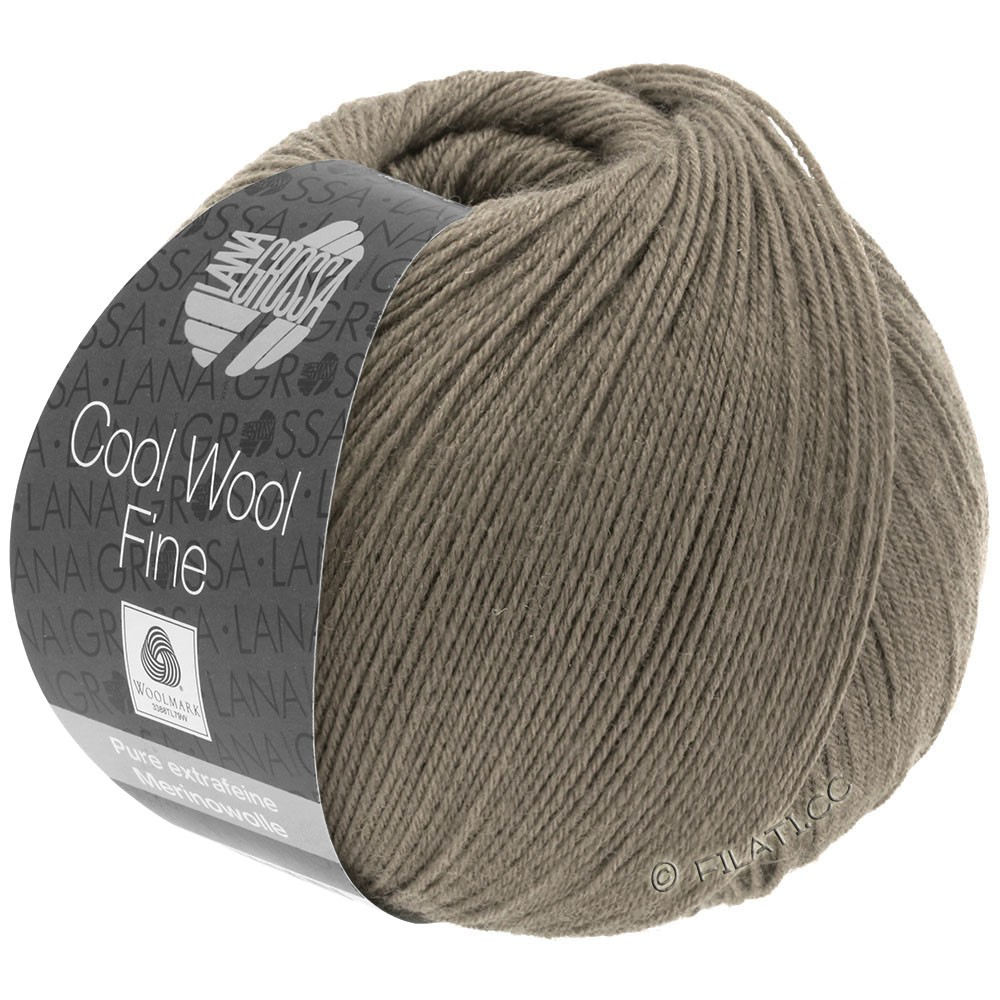 Lana Grossa COOL WOOL Fine | 33-taupe