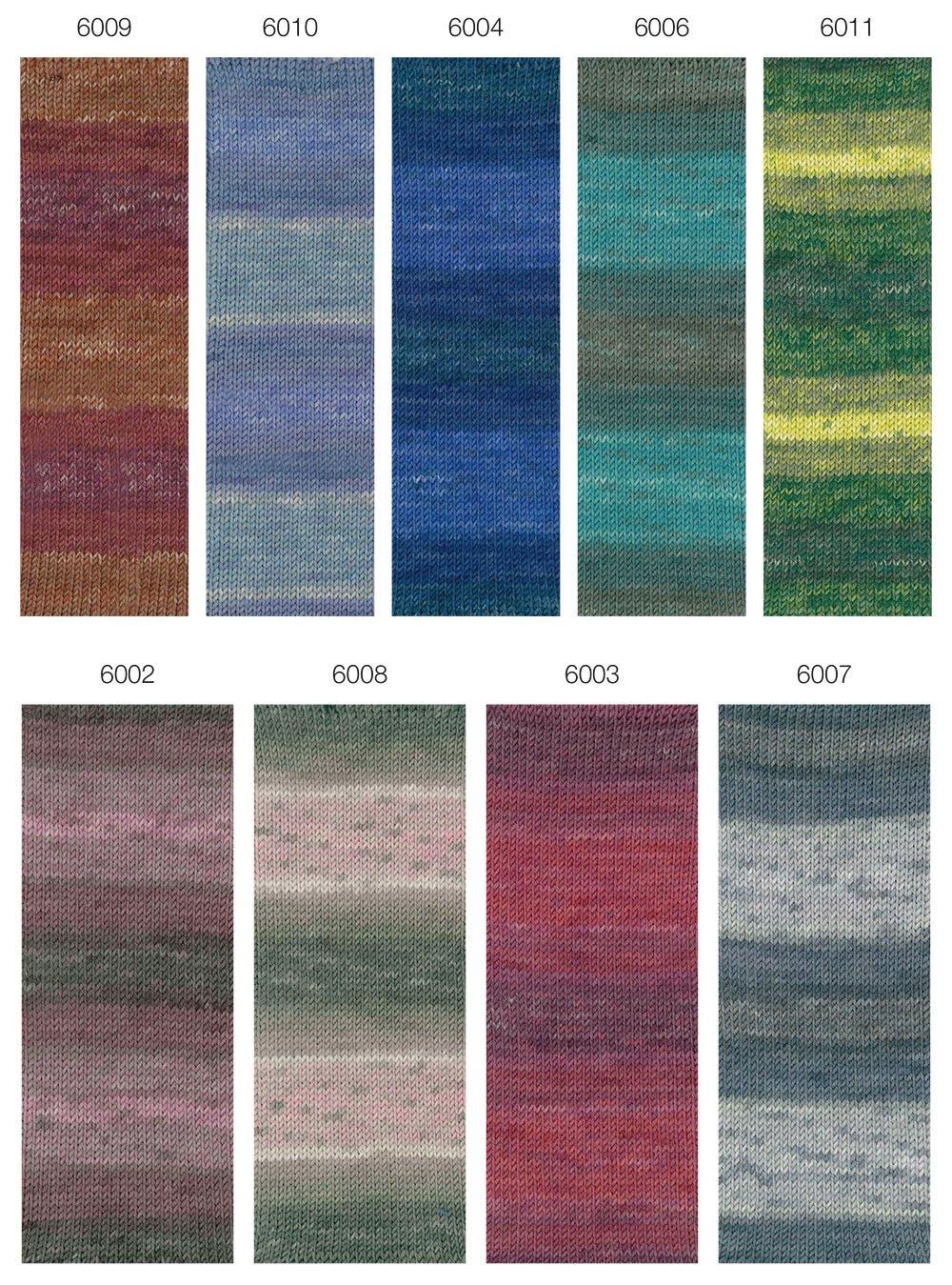 Lana Grossa COOL WOOL  Uni/Melange/Print/Degradé/Neon