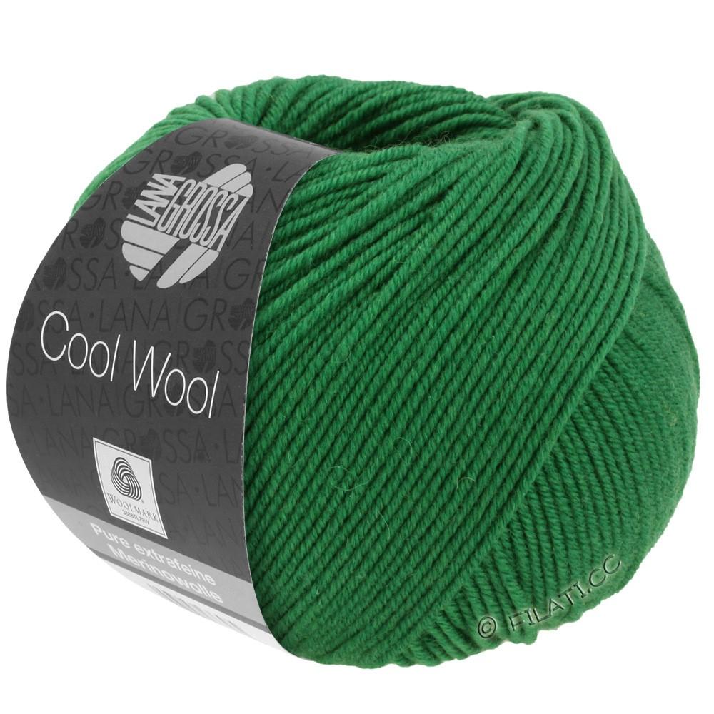 Lana Grossa COOL WOOL  Uni/Melange/Print/Degradé/Neon | 2017-grøn