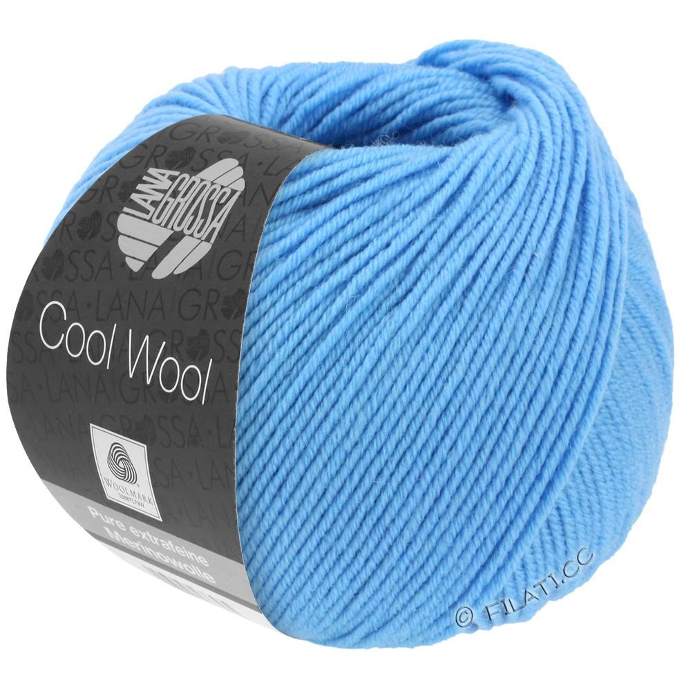 Lana Grossa COOL WOOL  Uni/Melange/Print/Degradé/Neon | 2031-himmelblå