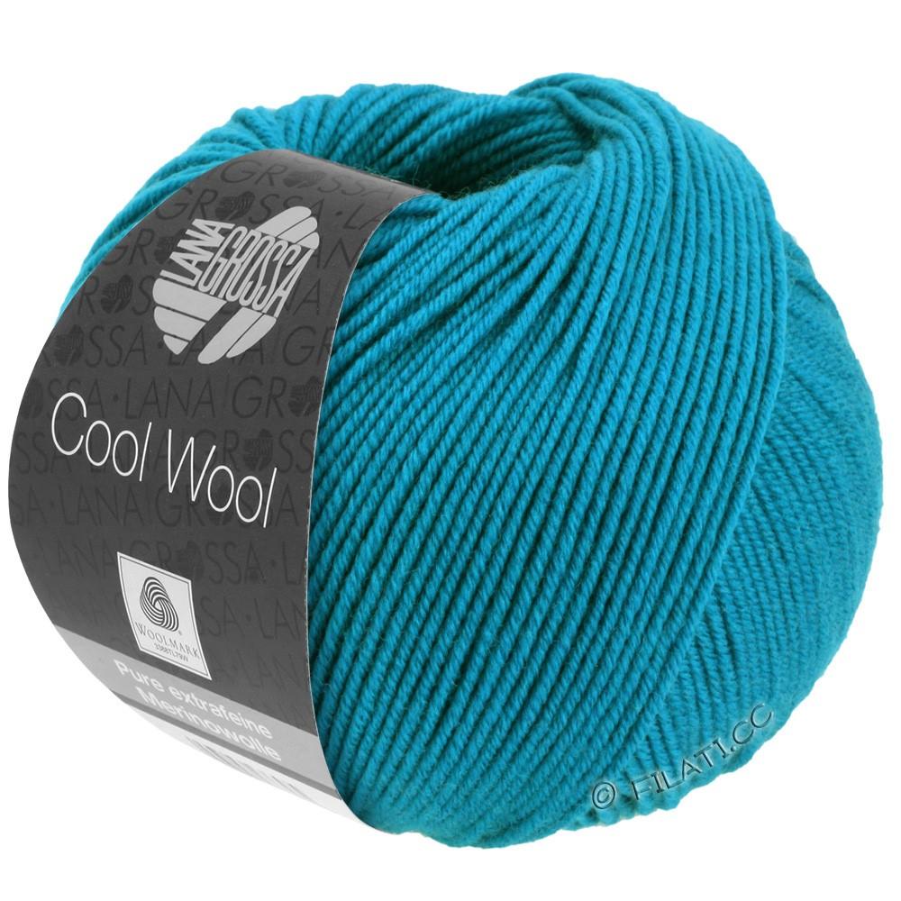 Lana Grossa COOL WOOL  Uni/Melange/Print/Degradé/Neon | 2036-azurblå