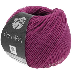 Lana Grossa COOL WOOL   Uni/Melange/Neon | 2044-purpur