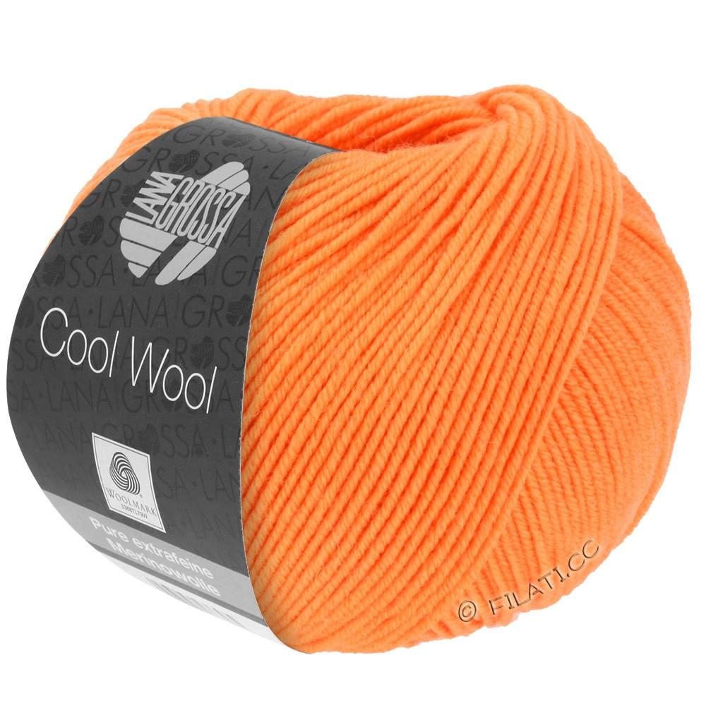 Lana Grossa COOL WOOL  Uni/Melange/Print/Degradé/Neon | 0418-mandarin