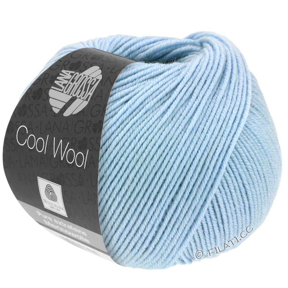 Lana Grossa COOL WOOL  Uni/Melange/Print/Degradé/Neon | 0430-himmelblå