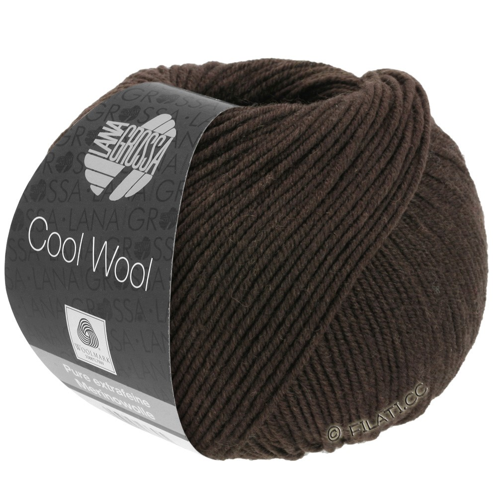 Lana Grossa COOL WOOL  Uni/Melange/Print/Degradé/Neon | 0436-mokka