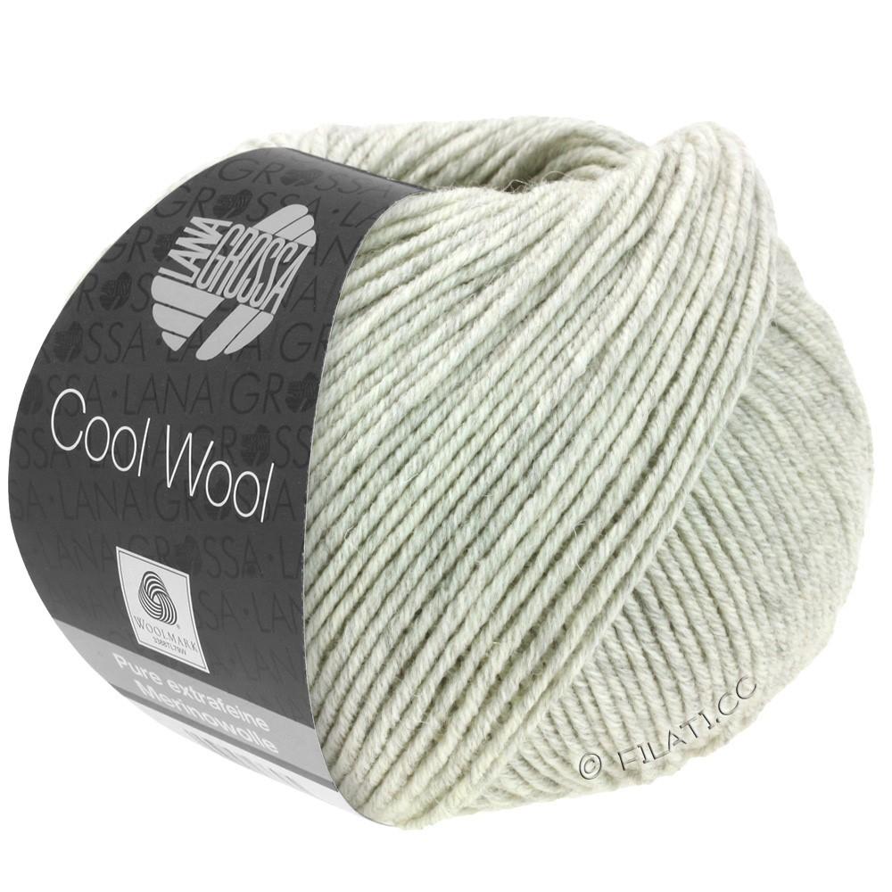 Lana Grossa COOL WOOL  Uni/Melange/Print/Degradé/Neon | 0443-lysegrå meleret