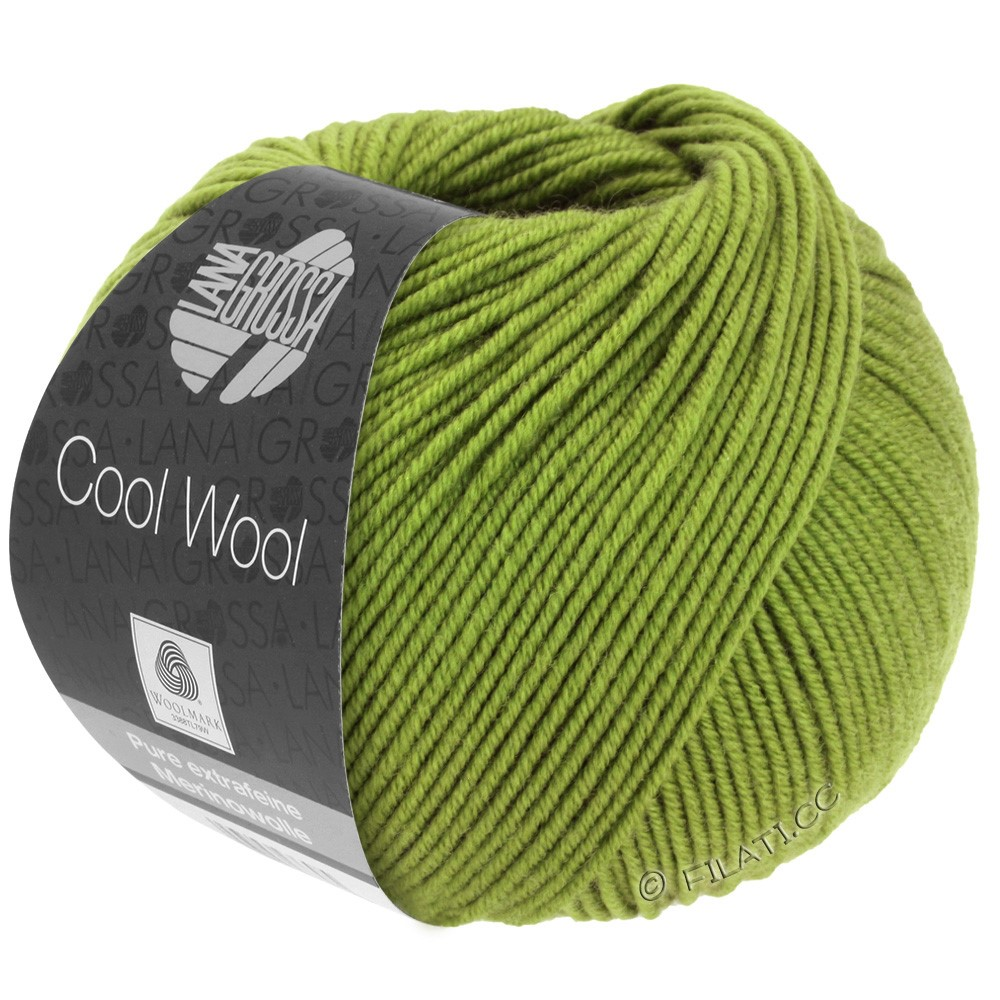 Lana Grossa COOL WOOL   Uni/Melange/Neon | 0471-lime