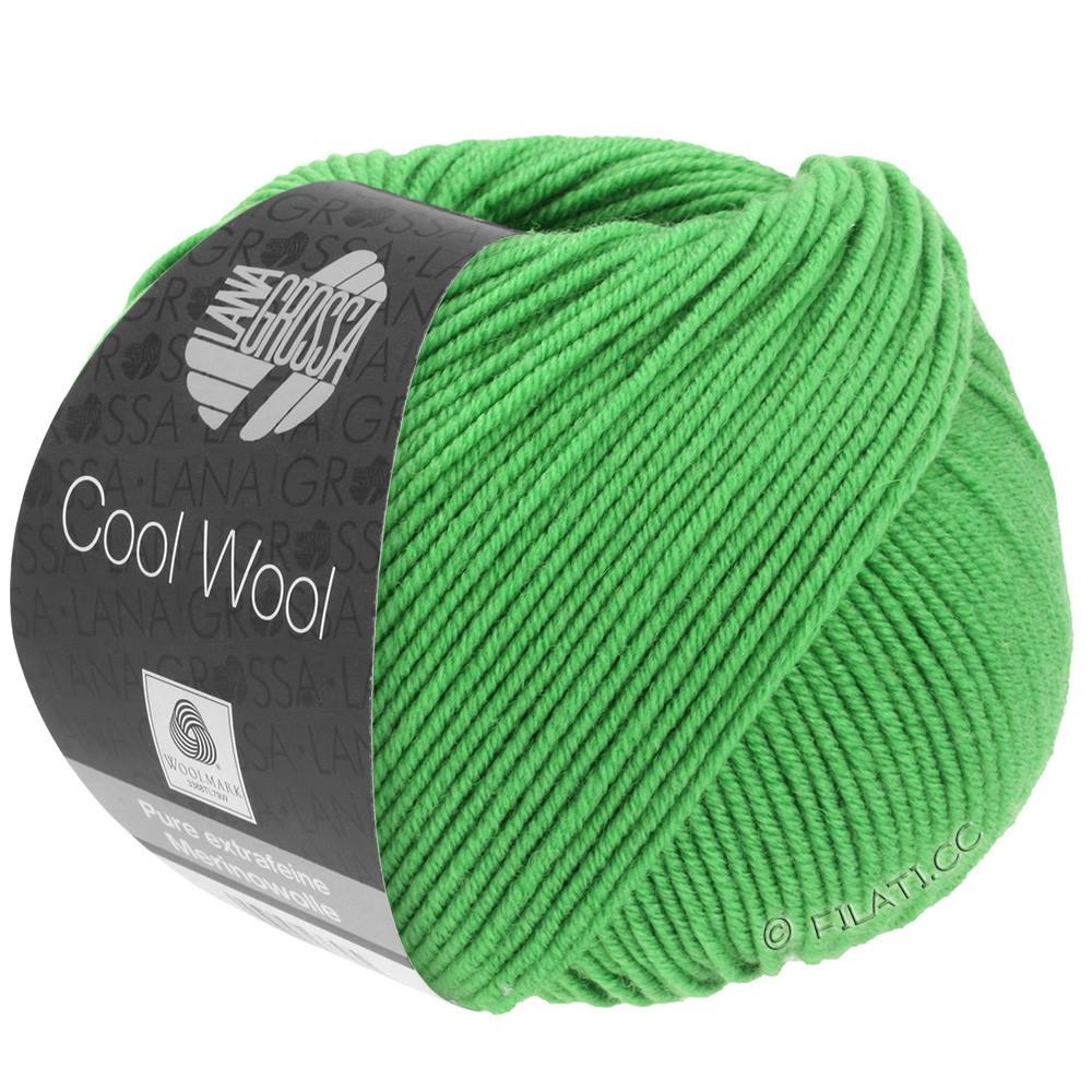 Lana Grossa COOL WOOL  Uni/Melange/Print/Degradé/Neon | 0504-æblegrøn