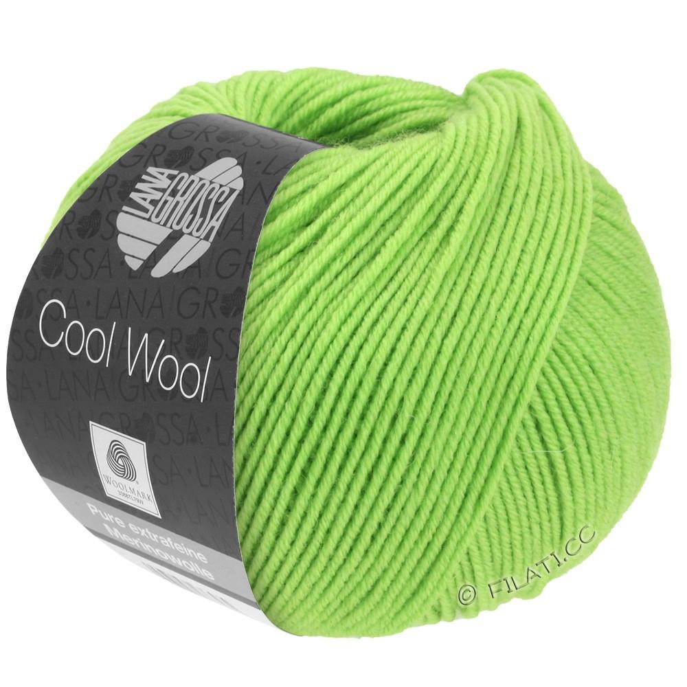 Lana Grossa COOL WOOL  Uni/Melange/Print/Degradé/Neon | 0509-lysegrøn