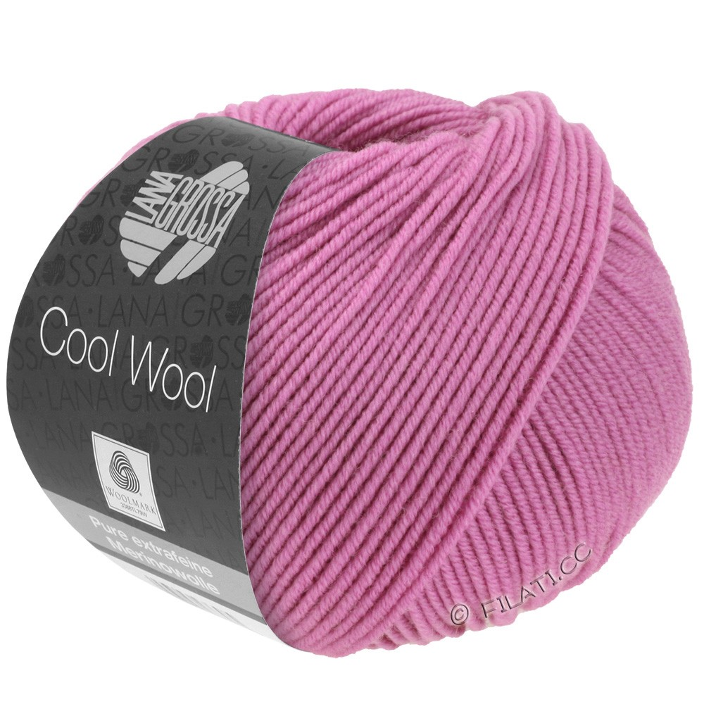 Lana Grossa COOL WOOL  Uni/Melange/Print/Degradé/Neon | 0530-fuchsia