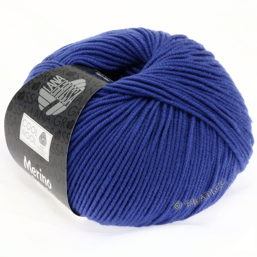 Lana Grossa COOL WOOL   Uni/Melange/Neon | 0548-royal