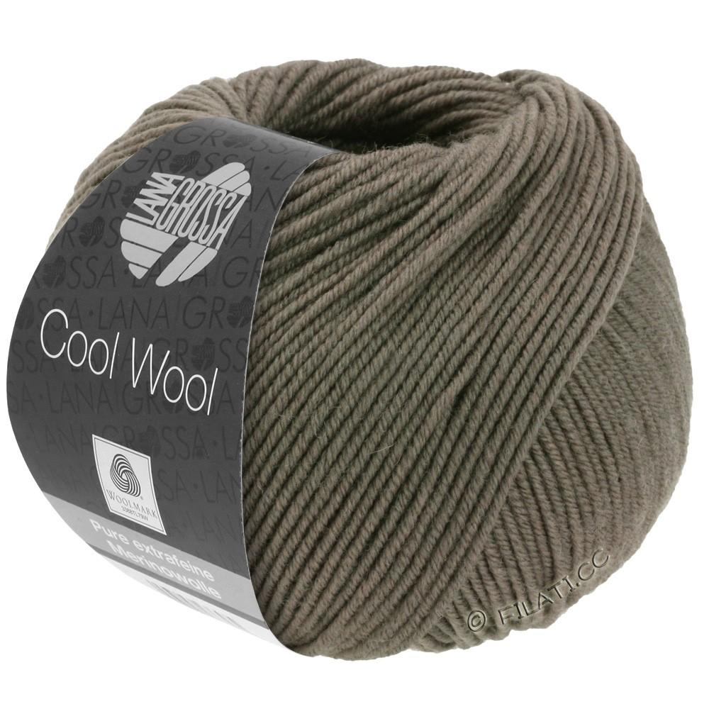 Lana Grossa COOL WOOL  Uni/Melange/Print/Degradé/Neon | 0558-gråbrun
