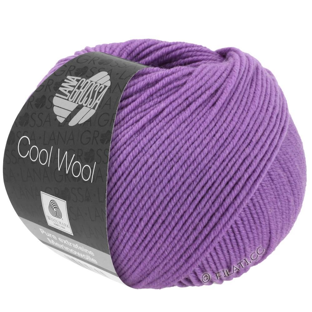 Lana Grossa COOL WOOL  Uni/Melange/Print/Degradé/Neon | 0592-mørke lilla