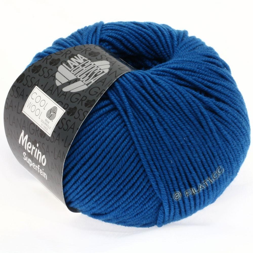 Lana Grossa COOL WOOL  Uni/Melange/Print/Degradé/Neon | 0598-petrol blå