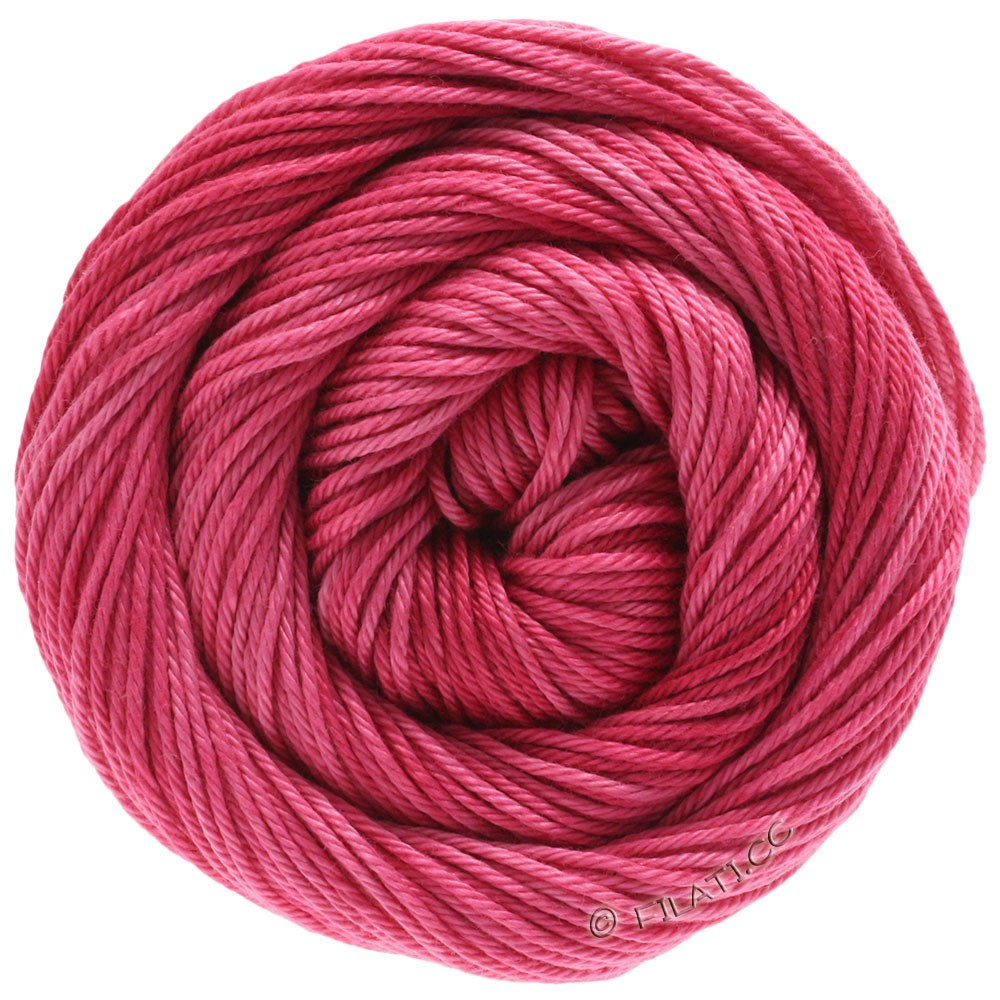 Lana Grossa COTONE Degradé | 204-pink/hindbær