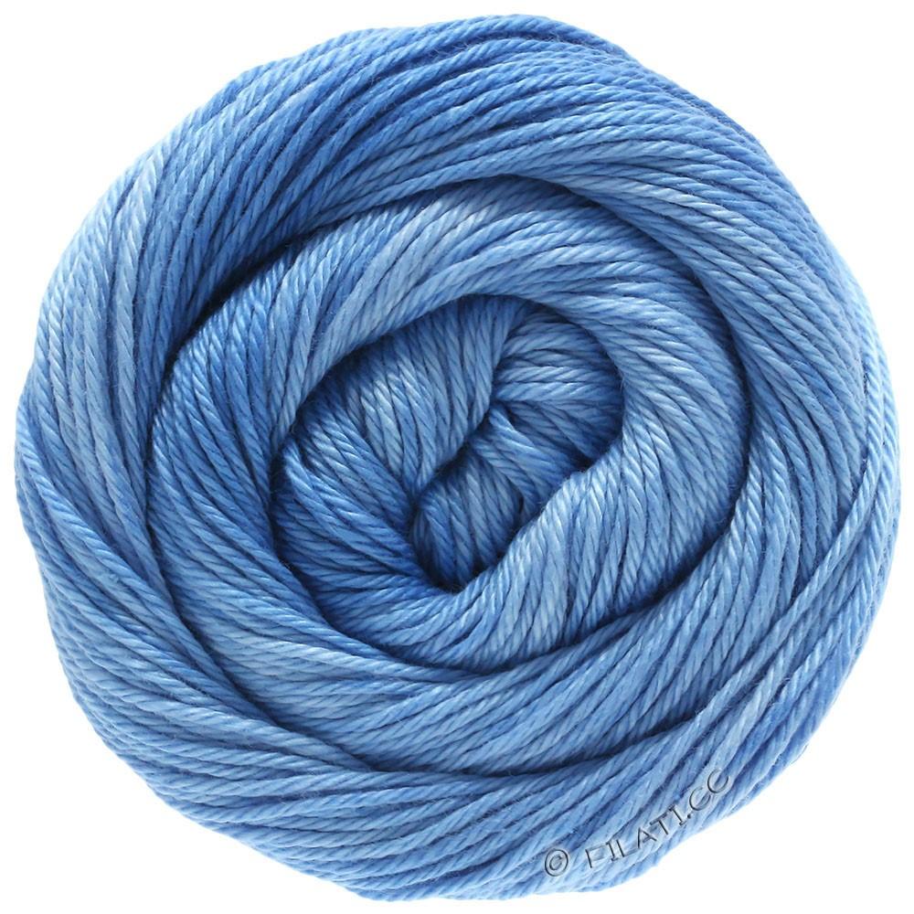 Lana Grossa COTONE Degradé | 208-lyseblå/himmelblå/blå