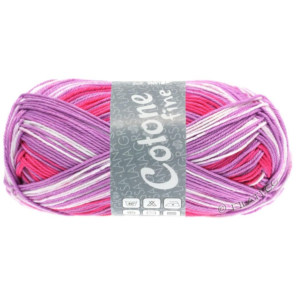 Lana Grossa COTONE FINE Print | 804-sartrosa/nellike/pink/purpur