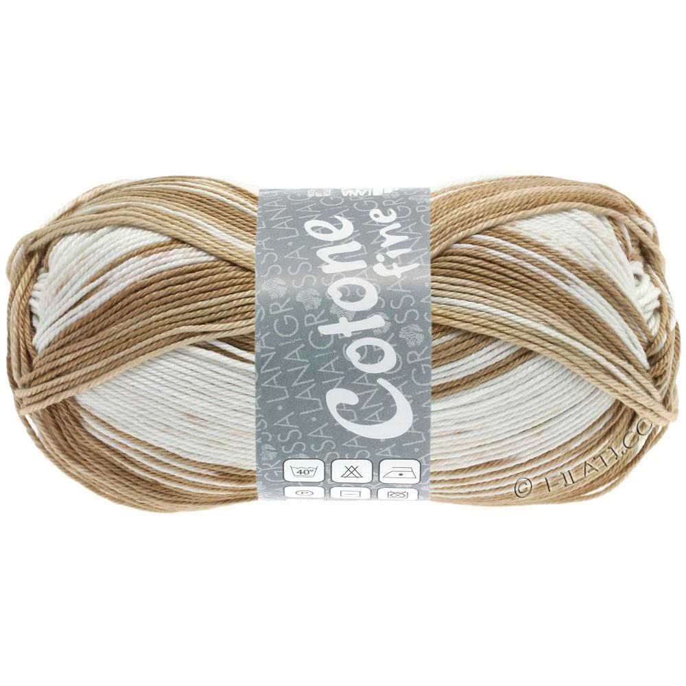 Lana Grossa COTONE FINE Print | 808-lyse beige/sand/nougat