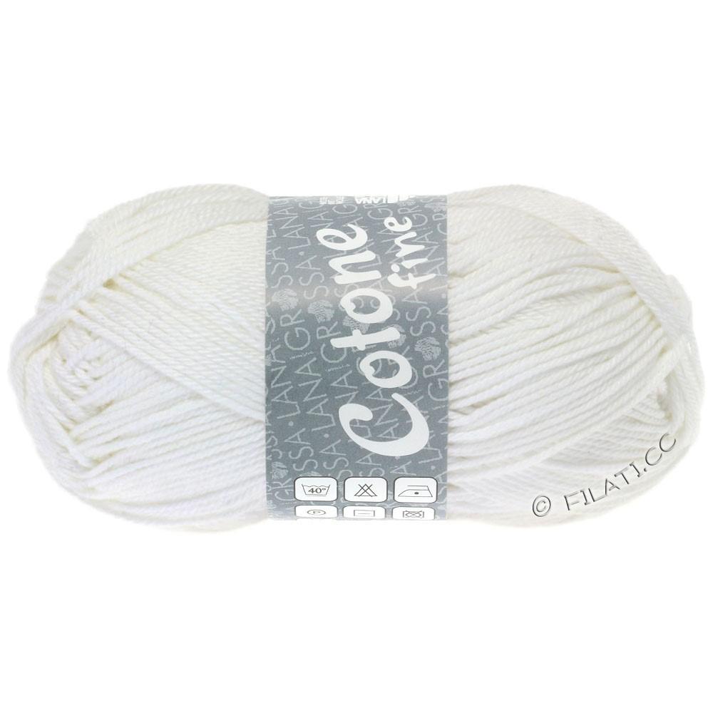 Lana Grossa COTONE FINE | 622-hvid