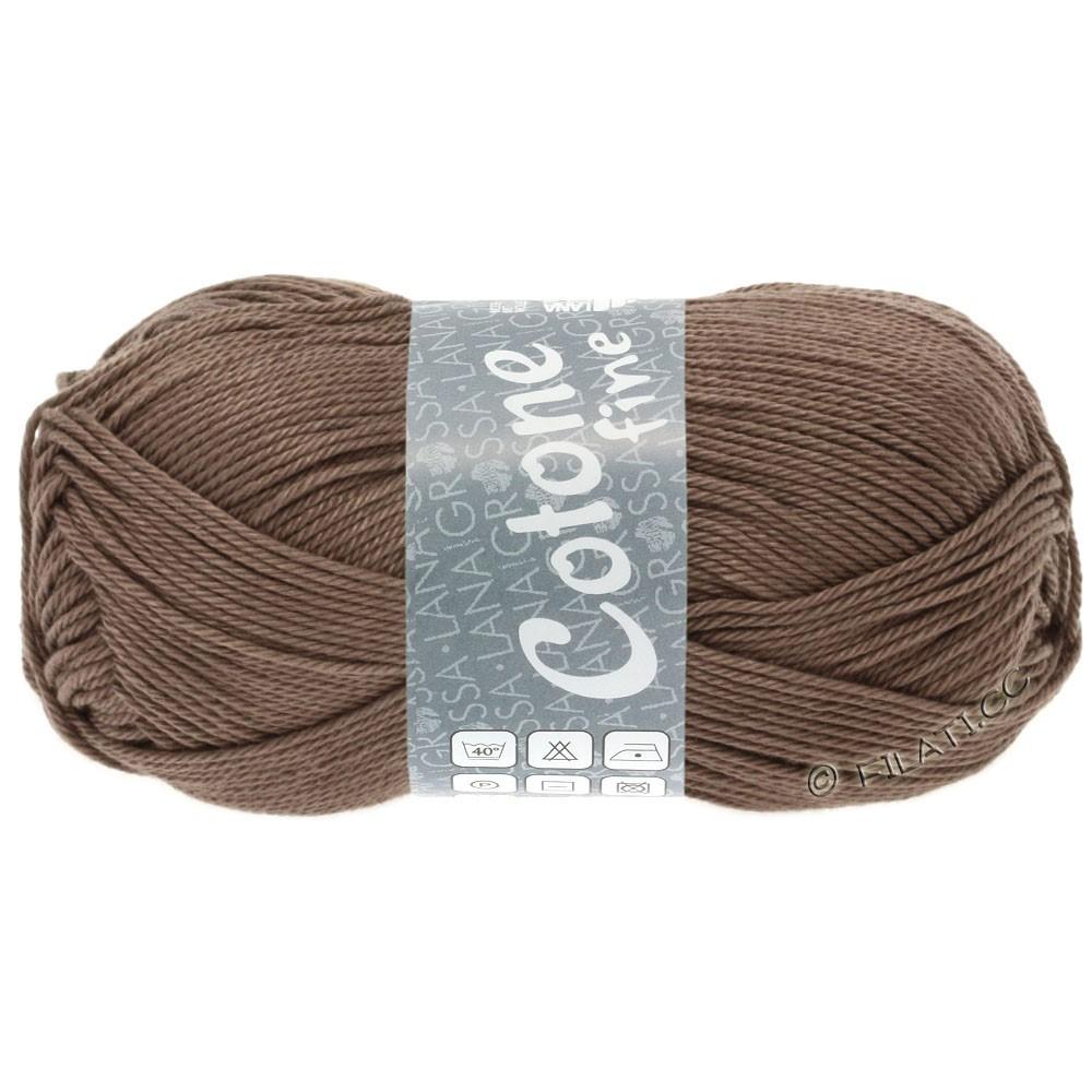 Lana Grossa COTONE FINE | 630-gråbrun