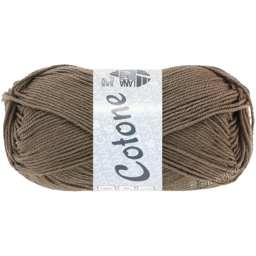 Lana Grossa COTONE | 30-gråbrun