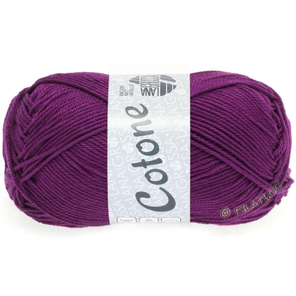 Lana Grossa COTONE | 45-mørk violet