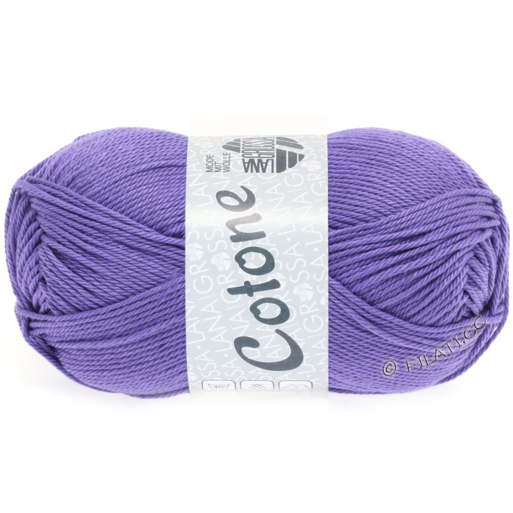 Lana Grossa COTONE | 50-purpur