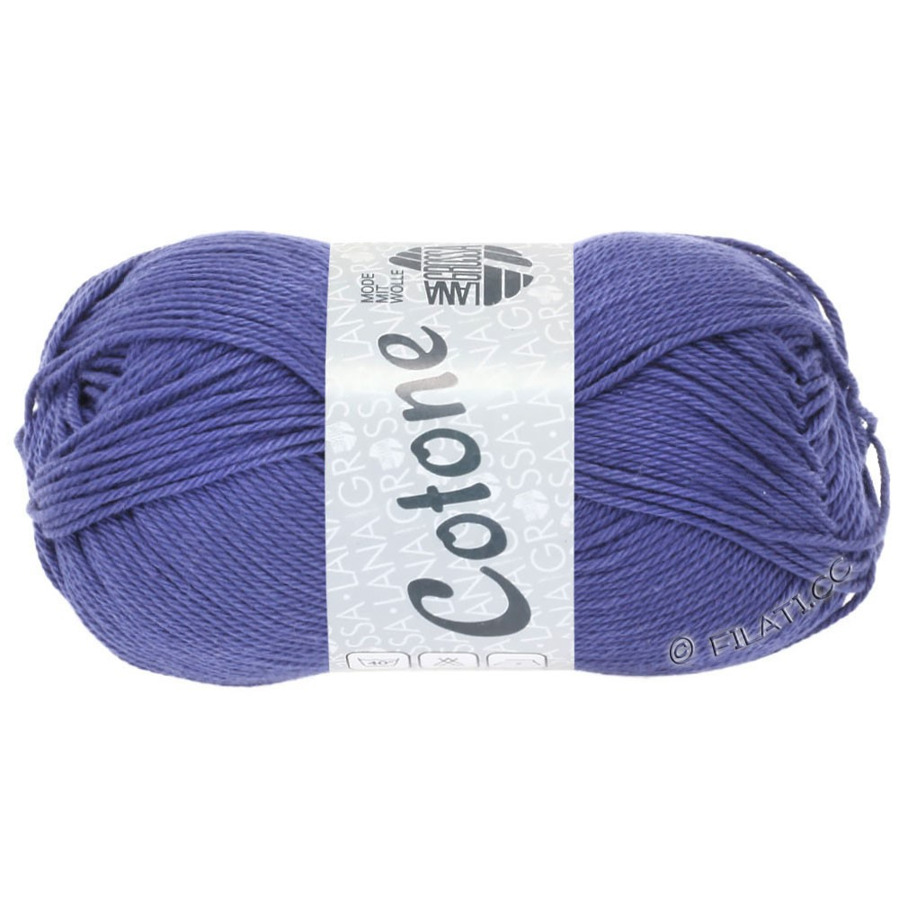 Lana Grossa COTONE | 62-violetblå